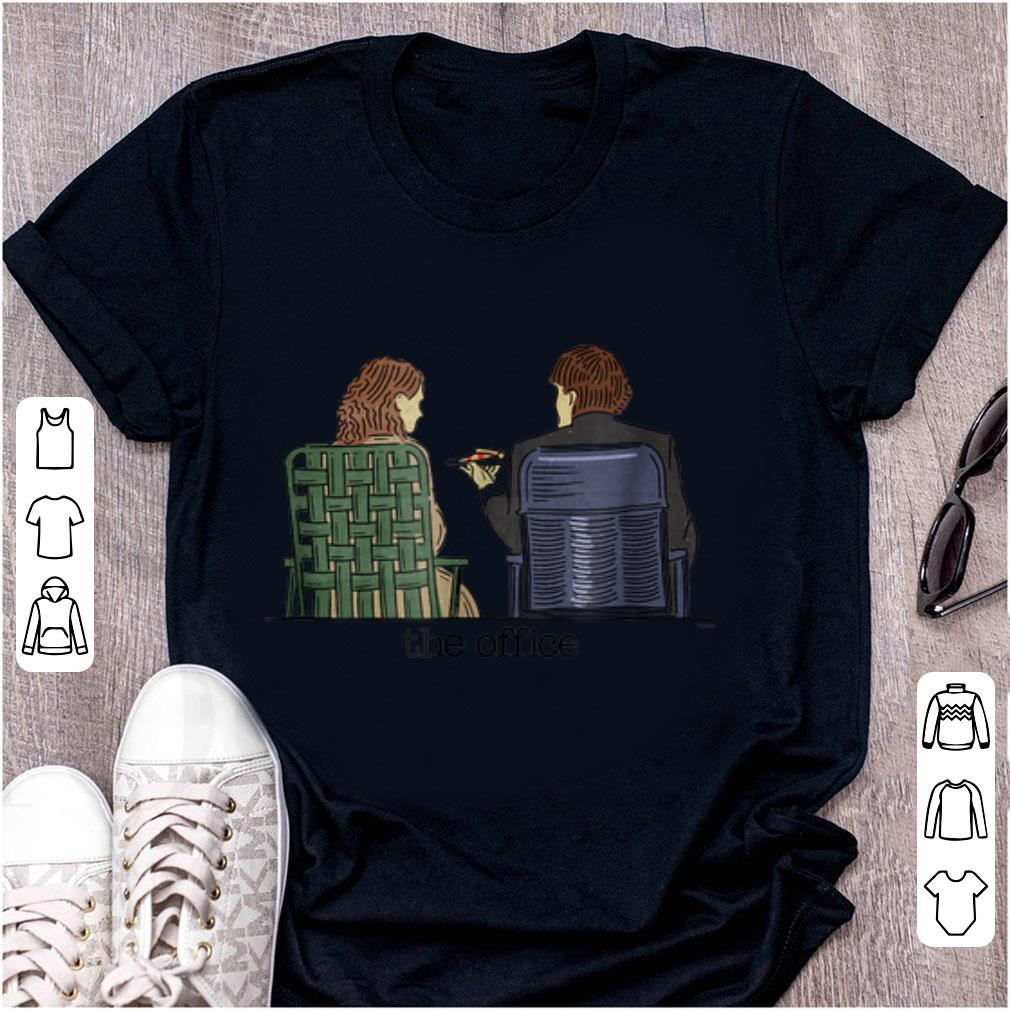 Original The Office Jim and Pam Roof Date shirt 1 - Original The Office Jim and Pam Roof Date shirt