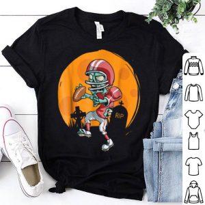 Original Zombie Football Funny Sports Halloween Gift shirt