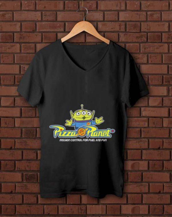 Premium Disney Pixar Toy Story Alien Pizza Planet Mission Control shirt