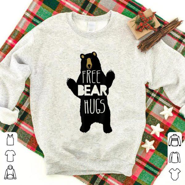 Premium Free Bear Hugs Bear Humor Bear Family shirt