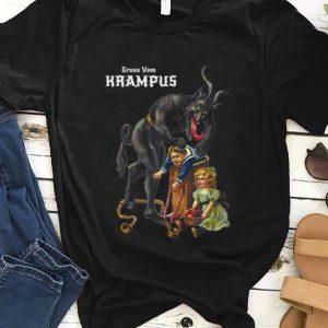 Premium Greetings From Gruss Vom Krampus Demon Christmas shirt