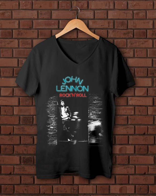 Premium John Lennon Rock N Roll shirt 1 - Premium John Lennon Rock N Roll shirt