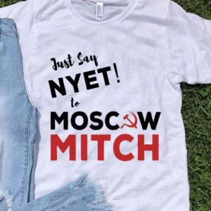 Premium Just Say Nyet To Moscow Mitch McConnell shirt