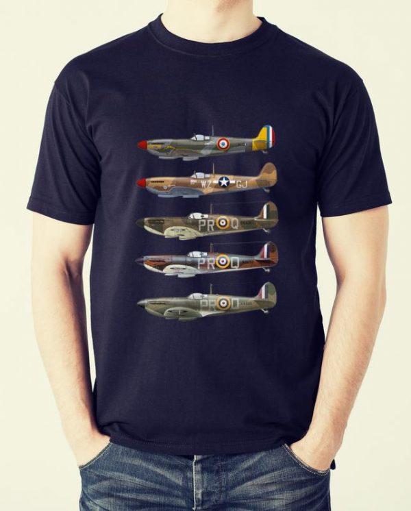 Premium Supermarine Spitfire Fighter WWII shirt