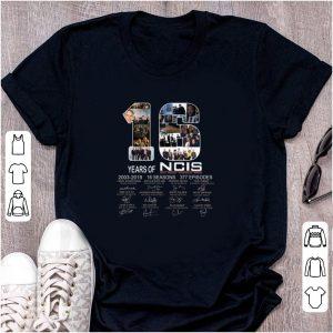 Pretty 16 Years Of NCIS 2003 - 2019 Signature shirt