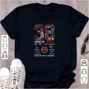 Pretty 38 Years Of Slayer 1981-2019 signature shirt