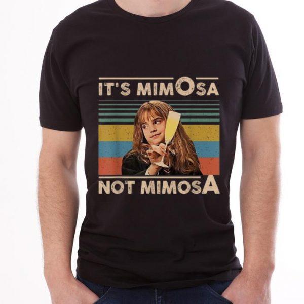 Pretty It's Mimosa Not Mimosa Vintage Emma Watson shirt