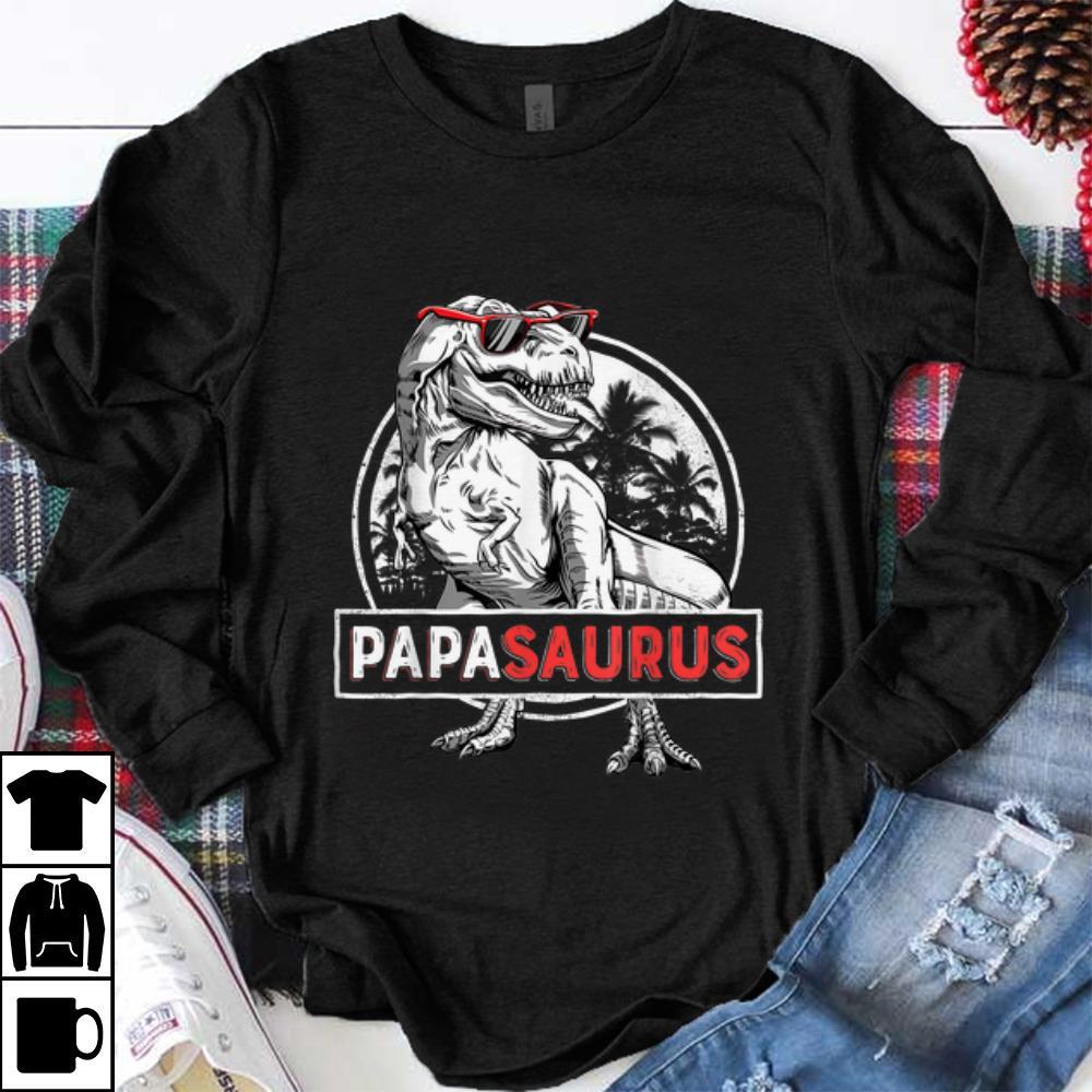Pretty T rex Papa Saurus Dinosaur Sunglass shirt 1 - Pretty T rex Papa Saurus Dinosaur Sunglass shirt