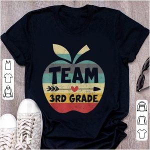 Pretty Team 3rd Grade Back To Shool Vintage shirt