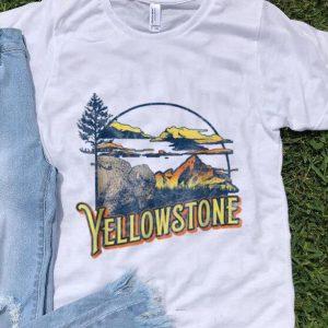 Pretty Vintage Yellowstone National Park Retro shirt