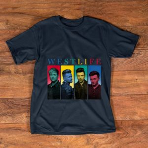 Pretty Westlife Colour Heads shirt