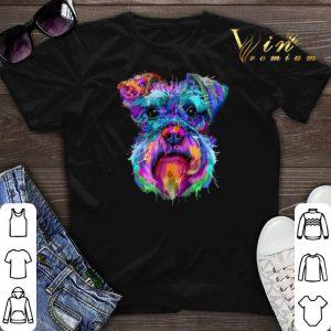Schnauzer Colorful shirt
