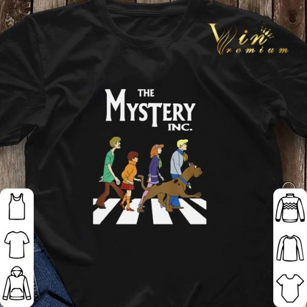 The Mysterry Inc Abbey Road Scooby Doo shirt