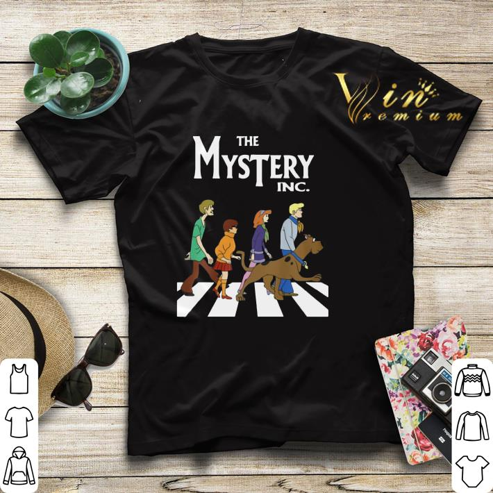 The Mysterry Inc Abbey Road Scooby Doo shirt 4 - The Mysterry Inc Abbey Road Scooby Doo shirt
