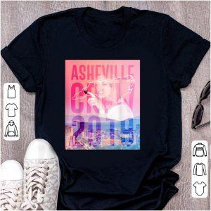 Top Asheville Crew 2019 Side Piece Action shirt
