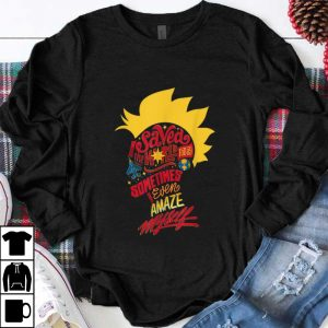 Top Captain Marvel Mohawk I Saved The World Today shirt