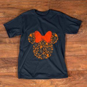 Top Disney Minnie Mouse Halloween Silhouette shirt