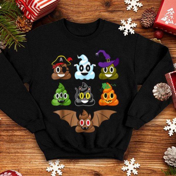 Top Poop Emoji's Halloween Costumes Funny shirt