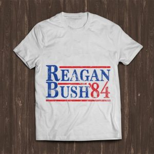 Top Reagan Bush 84 shirt