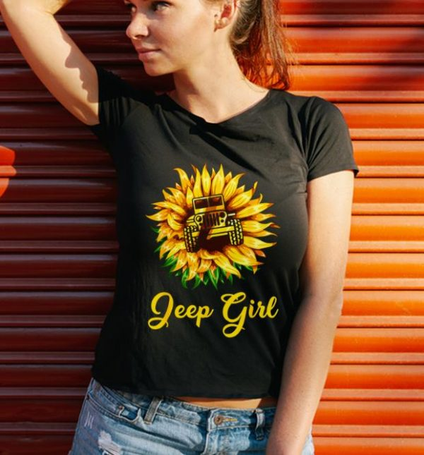 Top Sunflower Jeep Girl shirt