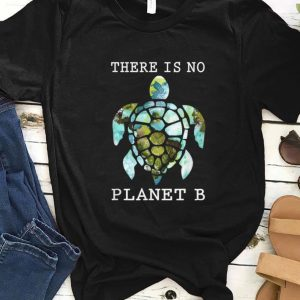 Top There Is No Planet B Rescue Turtle shirt