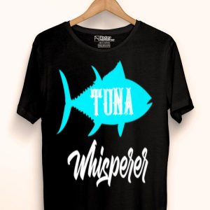 Tuna Whisperer Vintage Fishing Fisherman Premium shirt