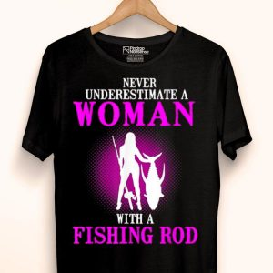 Woman Fishing Funny shirt