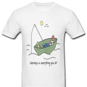 Women's Fishing Christian Worships shirt