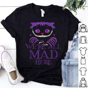 Awesome Evil Cheshire Cat Halloween Spooky shirt