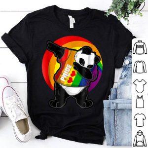 Awesome Panda Dab - Pride Rainbow Dabbing Panda LGBT shirt