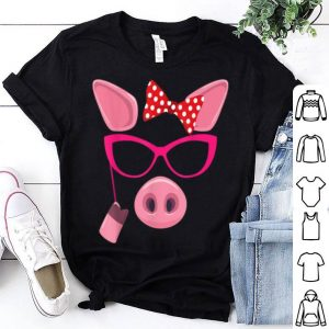 Awesome Pig Halloween Costume Funny Gift Boy Girl Women Face shirt