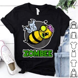 Beautiful Halloween Zombee with a Bee turn into a Zombie shirt