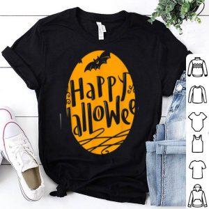 Funny Happy Halloween Pumpkin Face Cartoon Funny shirt