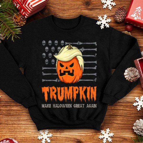 Funny Usa Trumpkin Make Halloween Great Again Funny shirt