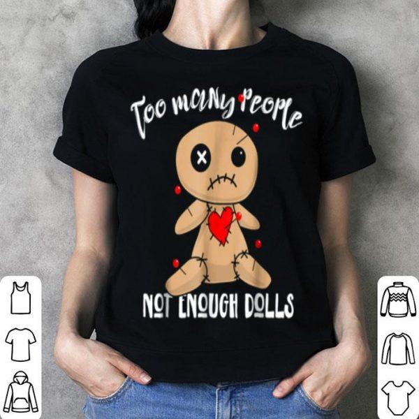 Halloweens For Women Voodoo Dolls shirt