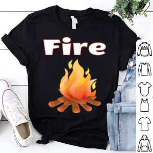 Matching Couple Halloween Costumes - Fire And Ice shirt