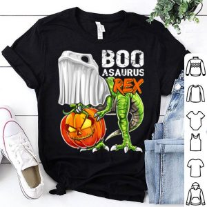 Nice Halloween Dinosaur Ghost Pumpkin Jack-o-lantern Boys shirt