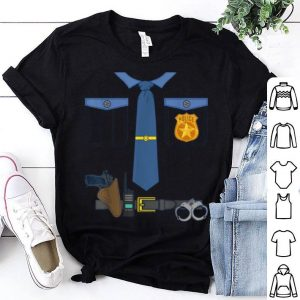 Nice Halloween Kids Dress Up Police Officer Cop Costume shirt
