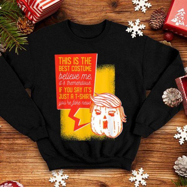 Nice Halloween Trumpkin Trump Pumpkin Humorous Halloween shirt