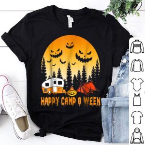 Nice Happy Camp-o-ween Funny Camping Halloween shirt