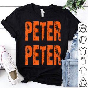 Nice Peter Peter Halloween Pumpkin Eater Costume shirt