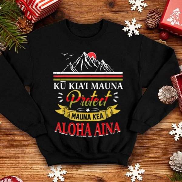 Official Protect Mauna Kea - We Are Mauna Kea Ku Kiai Pareo shirt