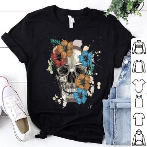 Official Skull and Flowers shirt