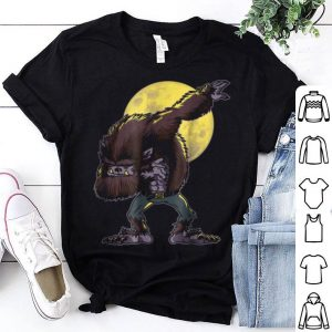 Original Dabbing Werewolf Funny Halloween Monsters shirt