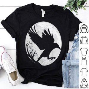 Original Dark Raven Silhouette Gift for Crow Raven Fans shirt