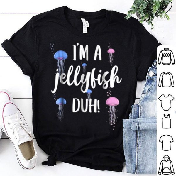 Premium I'm A Jellyfish Duh Halloween Costume shirt