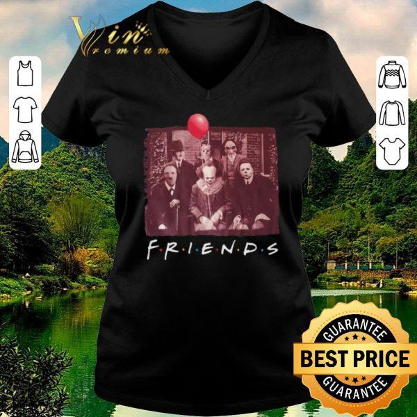 Premium Jigsaw Friends TV Show Horror movie characters shirt sweater