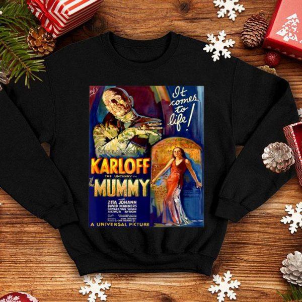 Premium Mens Mummy - Vintage Monster Movie Classic Horror Movie shirt