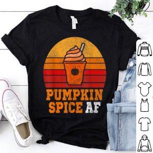 Pumpkin Spice Af Funny Men Husband Apparel Halloween shirt