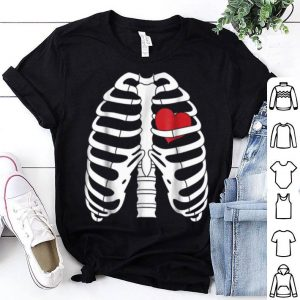 Skeleton Halloweens With Heart shirt